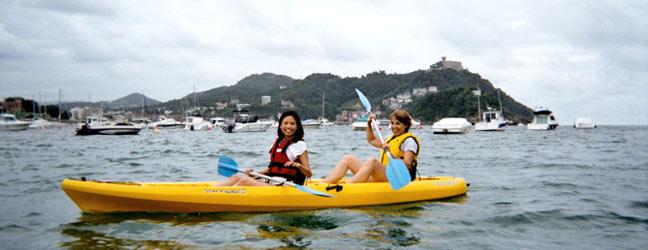 Anglais + Canoë kayak
