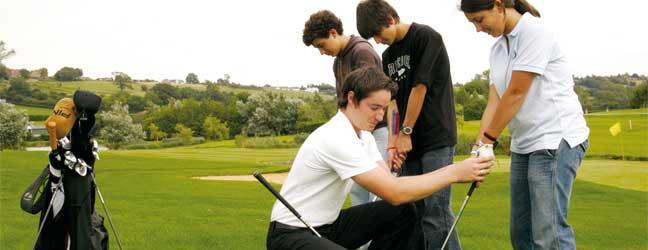 Cours d'Allemand et Golf pour un étudiant