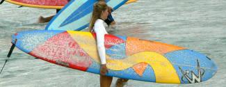 Cours d'Anglais et Surf pour un étudiant