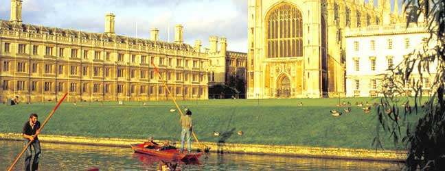 Cambridge - Camp Linguistique Junior à Cambridge