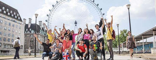 Un semestre intensif à l'étranger (Londres en Angleterre)