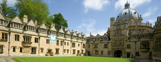 Camp linguistique d'été junior Bucksmore - Brasenose College - Université d'Oxford (Oxford en Angleterre)