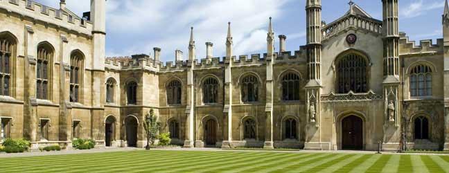 Programme d'été sur campus de l'Université d'Oxford (Oxford en Angleterre)