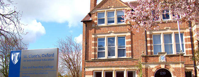 Camp linguistique d'été junior St Clare's Oxford - Headington Road Campus (Oxford en Angleterre)