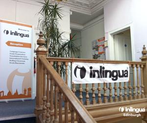 Anglais des affaires en mini groupe Ecosse lycéen Inlingua - Edinburgh - Edimbourg