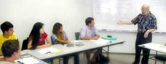 Cours d'Anglais aux Etats-Unis pour un étudiant