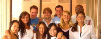 Cours d'été sur le campus de l'Université d'UCLA