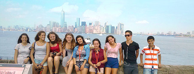 Camp linguistique d'été junior Brooklyn Heights College (New York aux Etats-Unis)