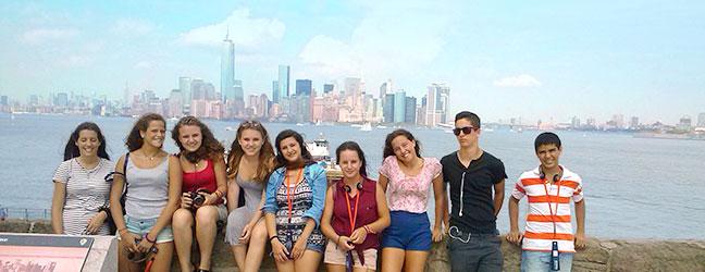 Camp linguistique d'été junior Brooklyn Heights College (New York aux Etats-Unis)