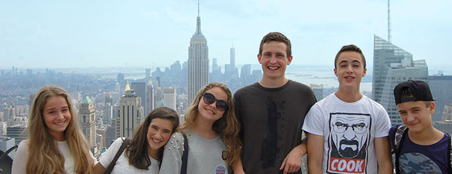 "Programme junior "" Day camp"" (New York aux Etats-Unis)"