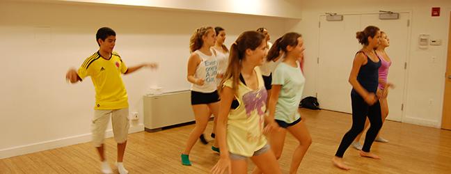 Anglais + Danse (New York aux Etats-Unis)