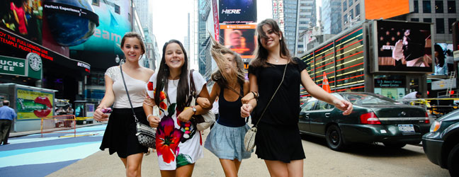 Anglais + Mode (New York aux Etats-Unis)