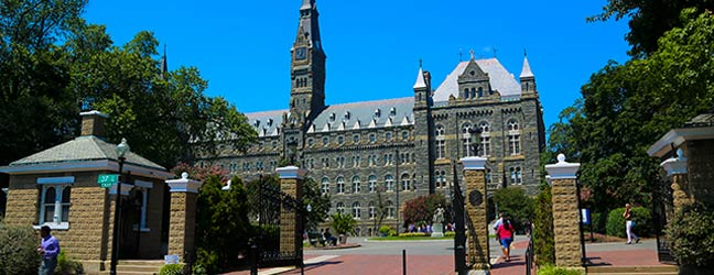 Camp linguistique d'été junior CISL - Georgetown Université (Washington aux Etats-Unis)
