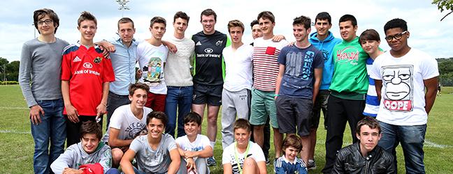 Anglais + Rugby (Cork en Irlande)