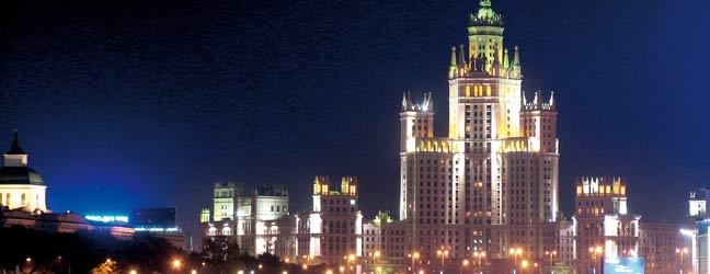 Moscou - Séjour linguistique à Moscou pour un lycéen