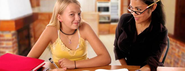 Immersion chez le professeur en Anglais pour un adolescent (13 - 17 ans)